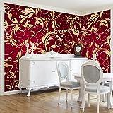 Apalis Vliestapete The 12 Muses Kleio Fototapete Breit | Vlies Tapete Wandtapete Wandbild Foto 3D Fototapete für Schlafzimmer Wohnzimmer Küche | rot, 95029