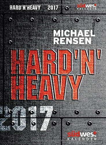 Livres Couvertures de HardnHeavy 2017 Textabreißkalender