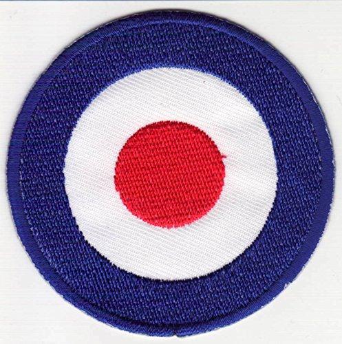 Mod Logo Aufnäher Patch groß für Jacken Aufbügler zum aufbügeln