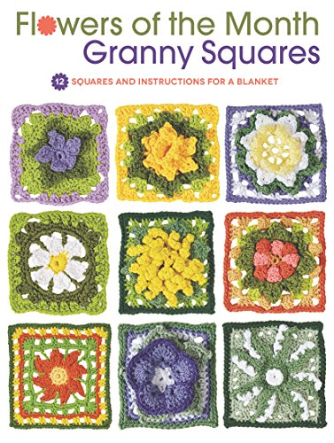 Flowers of the Month Granny Squares (Slip-thread)