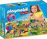 Playmobil Cavaliers et poneys avec Support de Jeu, 9331