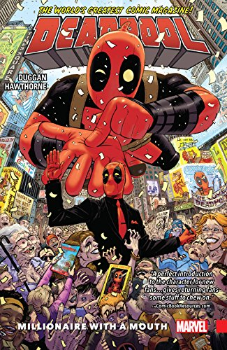 Deadpool: World's Greatest Vol. 1: Millionaire With A Mouth (Deadpool (2015-2017)) (Deadpool Marvel Graphic Novels)