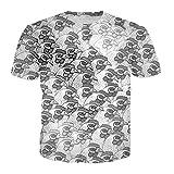 DUIT T Shirt Men Women Summer 3D Print Hip Hip Tee Shirts Short - Best Reviews Guide