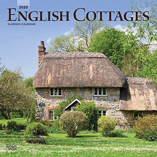 English Cottages - Englische Landhäuser 2020 - 16-Monatskalender: Original BrownTrout-Kalender [Mehrsprachig] [Kalender] (Wall-Kalender)