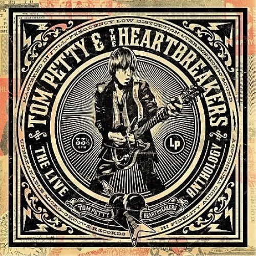 PETTY TOM & THE HEARTBREAKERS - LIVE ANTHOLOGY (1 CD)