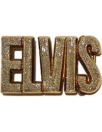 Bucklebox - Elvis Buckles - Hebilla de cinturón - para mujer plateado plata Talla única