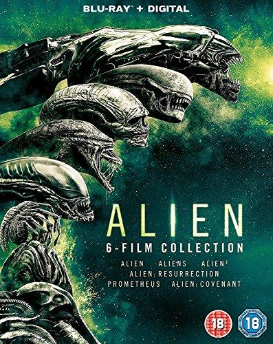 Bild von Alien 6 Films Collection: Alien / Aliens / Alien 3 / Alien: Resurrection / Prometheus / Alien Covenant (BOX) [6Blu-Ray] [Region B] (IMPORT) (Keine deutsche Version)