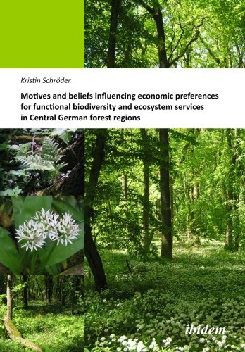 Motives and beliefs influencing economic preferences for functional biodiversity and ecosystem services in Central German forest regions