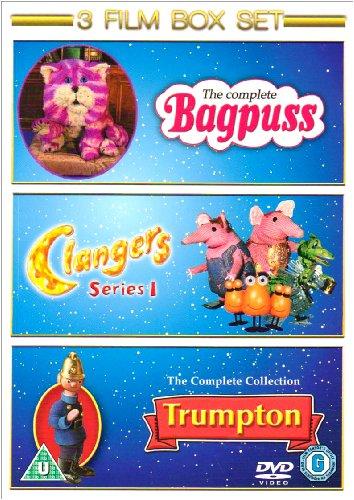 Bagpuss: Complete / Clangers: Series 1 / Trumpton: Complete [DVD]