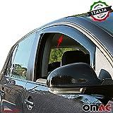 KIA PICANTO Deflettori D' aria Deflettore pioggia 2pezzi set anteriore a partire dal 2012