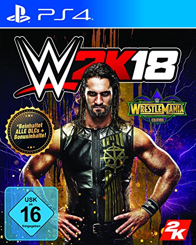 WWE 2K18 - WrestleMania Edition - [PlayStation 4]