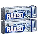 Rakso Edelstahlwolle Extrafein 00 2 Pakete mit je 150 g 720700