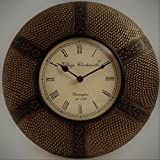 [Sponsored]GIFTWITHSWAGGER's 12 Inch Vintage Brass Wall Clock With Dual Design