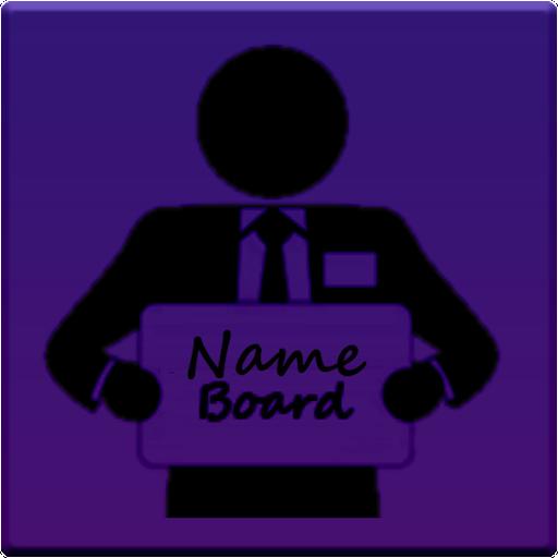 Name Board - Chauffeurs Taxis