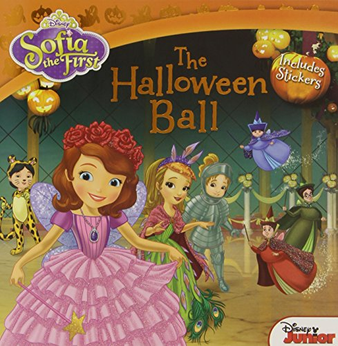 Sofia the First The Halloween Ball: Includes Stickers (State Ball Halloween)