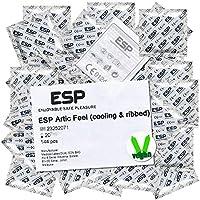 Preisvergleich für ESP Großpackung Artic Feel (144 kühlende, gerippte Kondome), vegane Kondome