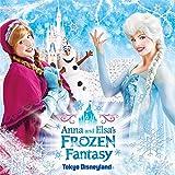 Tokyo Disneyland Anna and Elsa