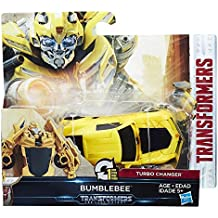 Transformers The Last Knight 1-Step Turbo Changer Bumblebee Figure