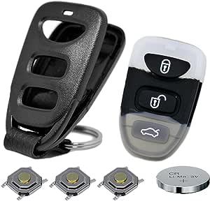 Auto Schlüssel Funk Fernbedienung 1x Gehäuse 3 Tasten Elektronik
