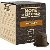 Note D'Espresso Nocciolino Preparato Solubile per Bevanda al Gusto di Cappuccino alla Nocciola - 280 g (40 x 7 g) Esclusivame