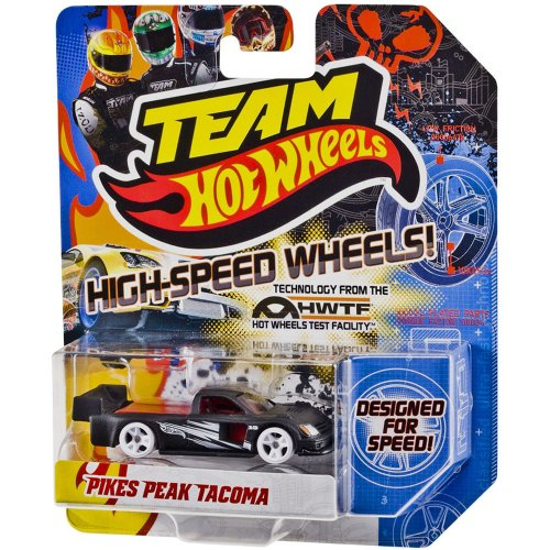 Team Hot Wheels 1:64 Scale PIKES PEAK TACOMA with High-Speed Wheels by Hot Wheels