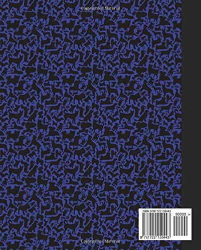 Composition: Dog Blue Marble Composition Notebook. Puppies Wide Ruled 7.5 x 9.25 in book, 100 pages journal for girls boys, kids, elementary school students and teachers (Dog Marble Composition Books)
