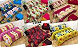 #6: Cairo Bedsheet Combo, Double Bed, 6 Bedsheets, 12 Pillow Covers, All New Floral Premium Designs
