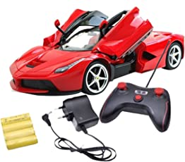 Zest 4 Toyz Ferrari Like Rechargeble Luxury Sports Remote Control Car