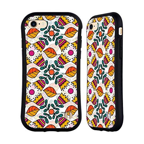 Ufficiale Shelly Bremmer Fuochi DArtificio Fiori Case Ibrida per Apple iPhone 7 / iPhone 8 Ballare