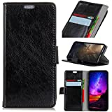 IPhone Xs Max Case,iPhone Xs Max Case, Leather Case Premium PU Leather Wallet Snap Case Leather Case Leather Case Flip Case Compatible With IPhone Xs Max Black