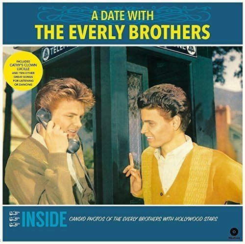 the Everly Brothers: A Date With the Everly Brothers (Ltd.180g Vinyl) [Vinyl LP] (Vinyl)