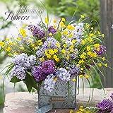 Blumen 2020 - Flowers - Wandkalender - Broschürenkalender (30 x 60 geöffnet) - Wandplaner