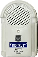 Inditrust water tank alarm overflow alarm with LED and With Voice Sound Overflow