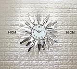CZM ZHB wanduhr Moderne Minimalistische Wohnzimmer Wanduhr Kreative Mode Uhren und Uhren europäischen Stil Schlafzimmer ruhige Quarzuhr Mode Tisch
