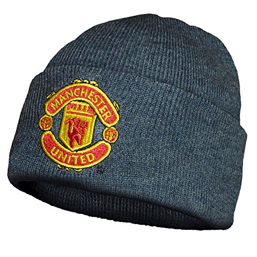 manchester-united-fc-official-gift-knitted-bronx-beanie-hat-grey