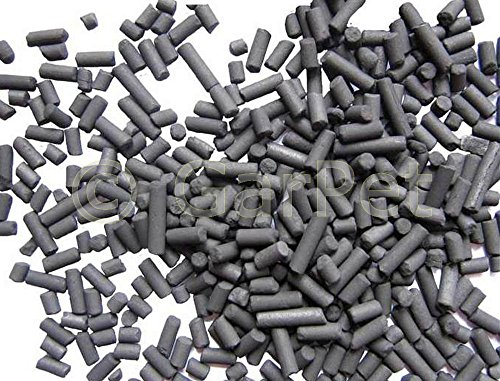 GarPet Aktivkohle Pellets Wasserfilter Filtermaterial Kohle Filterkohle Kohlepellets (1 KG)