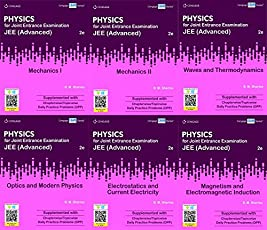 Cengage Physics Set Of 6 Books for JEE (Advanced)