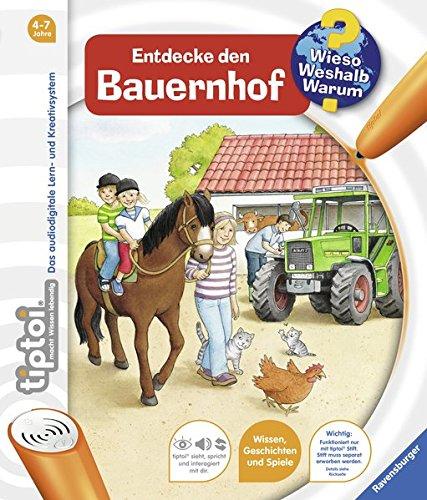 Ravensburger 00580 - tiptoi: Wieso? Weshalb? Warum? Entdecke den Bauernhof (ohne Stift)