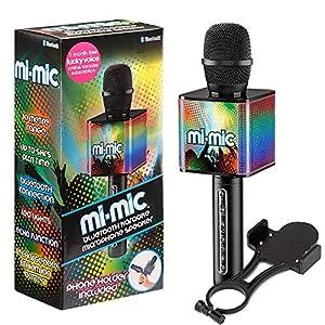 Mi-Mic Micrófono de Karaoke TY6086, Color Negro