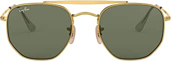 Ray-Ban occhiali da sole di maresciallo in oro verde RB3648 001 51