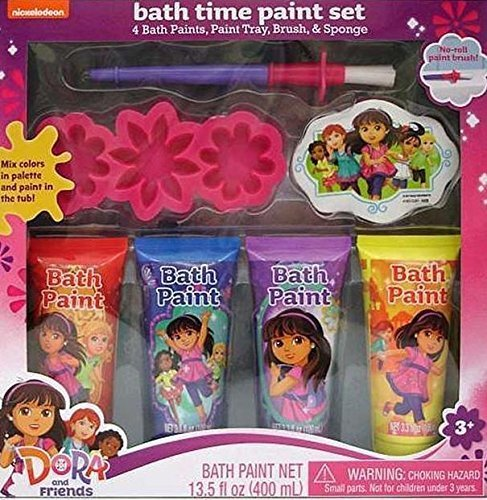 dora-and-friends-bath-time-paint-set-by-viacom