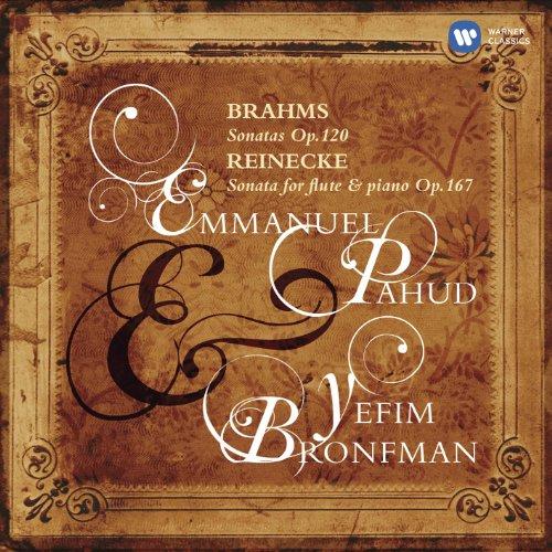 BRAHMS - Sonates op. 120 / REINECKE - Sonate pour flûte et piano op. 167