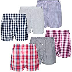 Maat Mons Pack de 6 Calzoncillos - Bóxer para Hombre - Cómoda Ropa Interior para Hombre en Diferentes Colores
