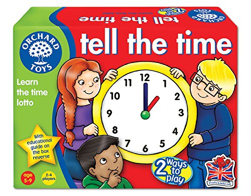 """Orchard Toys Lernspiel """"Tell the Time"""", Lernen der Uhrzeiten, englischsprachig, Alter 5 - 9"""