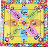Samaira Sunshine Carromboard with Ludo Snake Sadder Game for Kids,20 Inch(Multicolour)