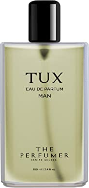 The Perfumer Tux Perfume for Men Citrus and Woody Fragrance, 100 ml