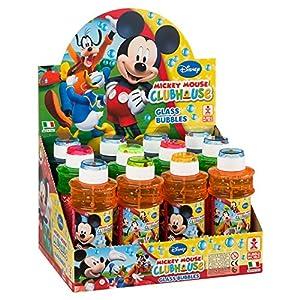 ColorBaby - Caja pomperos Mickey Mouse con 12 Unidades de 300 ml (24229)