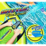 deAO Water Blaster Gun Pool Float Super Soaker Squirt Toy