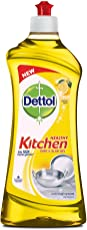 Dettol Kitchen Dish and Slab Gel - 750 ml (Lemon Fresh)