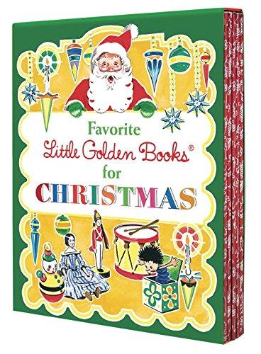 Favorite little golden books for Christmas.
